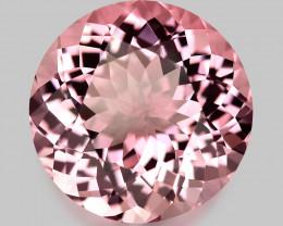 Flawless, high gem quality Brazilian neon pink Morganite.