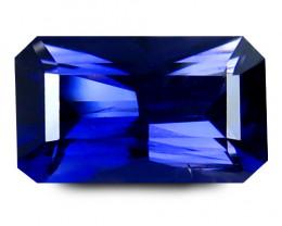 Iolite 1.34 Cts Violet Scissor Cut BGC796