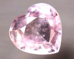 Unheated Sapphire 0.98Ct Natural Heart Shape Pink Sapphire D0813/B32