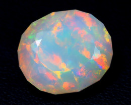 6.55Ct Master Cut Natural Ethiopian Flash Color Welo Opal C0502