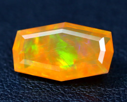 2.54Ct Master Cut Natural Ethiopian Flash Color Welo Opal C0503
