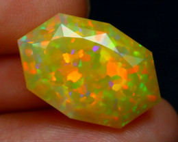 5.80Ct Master Cut Natural Ethiopian Flash Color Welo Opal C0506