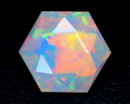 3.07Ct Master Cut Natural Ethiopian Flash Color Welo Opal C0507