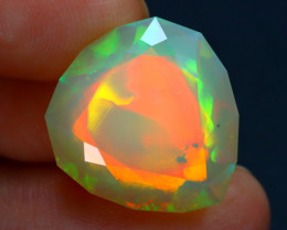 11.63Ct Master Cut Natural Ethiopian Flash Color Welo Opal C0512