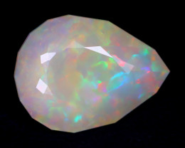 7.41Ct Master Cut Natural Ethiopian Flash Color Welo Opal C0516
