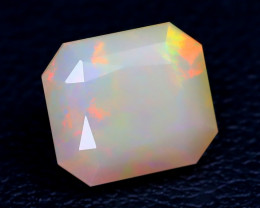 1.92Ct Master Cut Natural Ethiopian Flash Color Welo Opal C0517