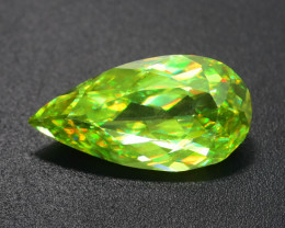 Rare AAA Fire 3.00 ct  Chrome Sphene Sku-75