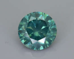Green Diamond 1.29 ct Top Grade Brilliance SKU-28