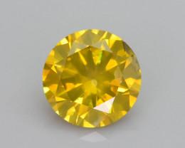 Yellow Diamond 0.99 ct Top Grade Brilliance SKU-28