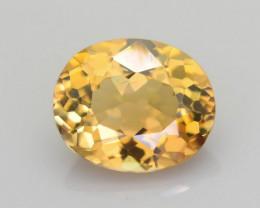 Yellow tanzanite 0.99 ct Unheated Rare Color SKU-34