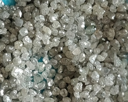 NATURALAUSTRALIAN WHITE DIAMOND ROUGH- 25CTWLOT