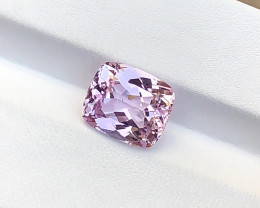 5.70 Ct Natural Pink Transparent Kunzite Ring Size Gemstone