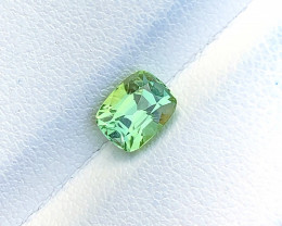1.20 Ct Natural Green Transparent Ring Size Tourmaline Gemstone