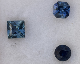 1.35tcw parcel of untreated blue sapphire