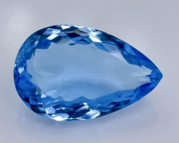 15.50 Crt Natural  Topaz Faceted Gemstone.( AB 97)