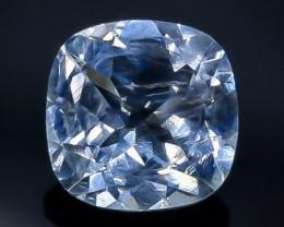 1.75 Crt Natural  Aquamarine Faceted Gemstone.( AB 97)