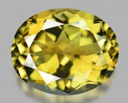 *NoReserve*Tourmaline 2.45 Cts Natural Fancy Greenish Yellow Gemstone
