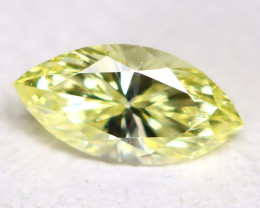 Yellow Diamond 0.13Ct Natural Untreated Genuine Fancy Diamond B125
