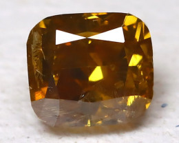 Orange Diamond 0.20Ct Natural Untreated Genuine Fancy Diamond B46