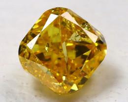 Orange Diamond 0.18Ct Natural Untreated Genuine Fancy Diamond B48