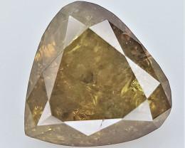0.21 CTS .fancy Color Diamond , Fancy Cut Diamond