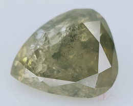 0.37 CTS , fancy Color Diamond , Fancy Cut Diamond