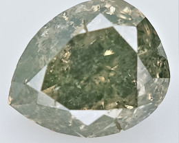0.30 CTS , fancy Color Diamond , Fancy Cut Diamond
