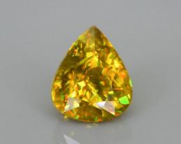 Rare AAA Fire 2.05 ct Malayaite Sphene Sku-76