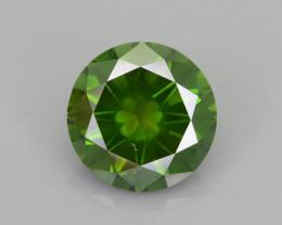 Green Diamond 1.26 ct AAA Forest Green Saturation  SKU-28
