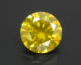 Yellow Diamond 1.07 ct Top Grade Brilliance SKU-28
