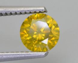 AIG Certified Yellow Diamond 1.20 ct Top Grade Brilliance SKU-28