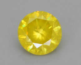 Yellow Diamond 1.09 ct Top Grade Brilliance SKU-28