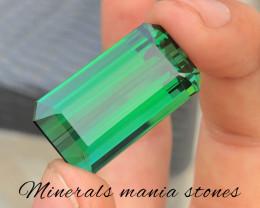 55 Carat Natural Emerald Cut Afghanistan Tourmaline