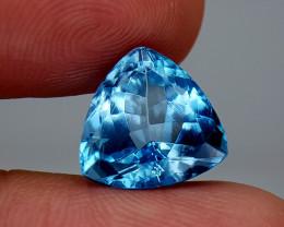 9.45Crt Blue Topaz Natural Gemstones JI01