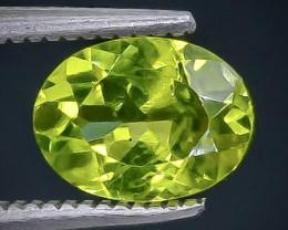 1.32 Crt Peridot  Faceted Gemstone (Rk-72)