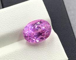NR 8.10 cts Natural Pink Kunzite Gemstone