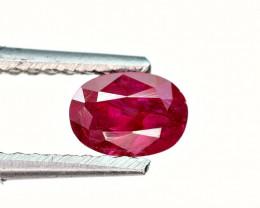 0.60Carat Precious Pigeon blood Ruby cut Gemstone
