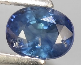 1.01 cts Stunning Lustrous  Natural Oval Sapphire_Open Fire_