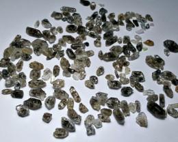 Amazing Natural color Diamond Quartz Crystals lot 100Cts-GN24