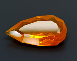 2.51CT FACETED FIRE OPAL BEST QUALITY GEMSTONE IIGC07