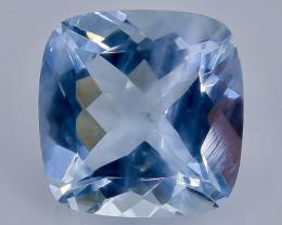 2.01 Crt Natural Aquamarine  Faceted Gemstone.( AB 98)