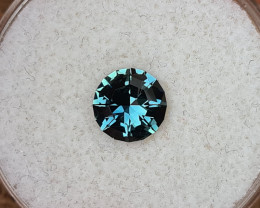 1,28ct teal to grass green colour change Sapphire - Master cut!