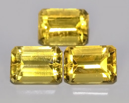 2.90 CTS AWESOME NATURAL OCTAGON CUT GOLD~YELLOW BERYL GEM!!