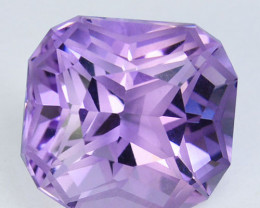 ~CUSTOM CUT~ 4.33 Cts Natural Purple Amethyst Fancy Cushion Bolivia