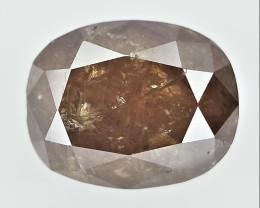 0.54 CTS , fancy Color Diamond , Fancy Cut Diamond