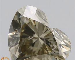 1.70 CTS , RAREST Heart Cut Diamond , valentine's special deal