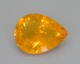 Rare 4.00 ct Mexican Fire Opal SKU.13