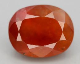 Top Color 3.90 ct Natural Hessonite Garnet ~ T
