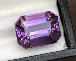 AAA Cut & Color 17.40 ct Untreated Amethyst
