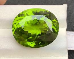 AAA Color & Cut 24.15 ct Green Leaf Color Peridot ~ Pakistan